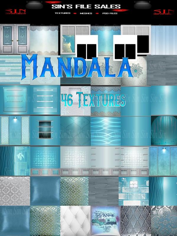 Mandala *46 Textures