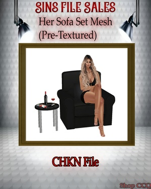 •Her Chair Mesh•