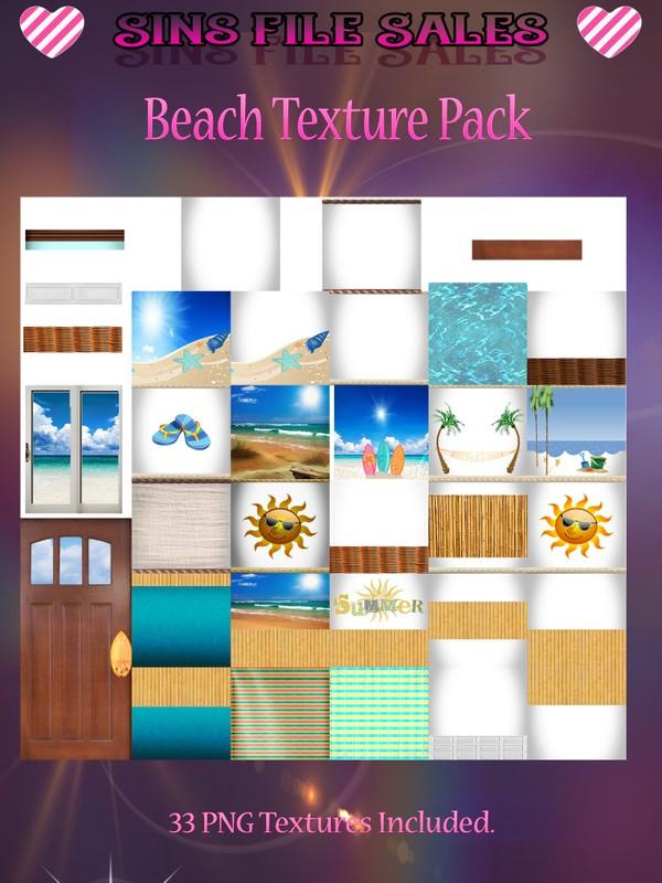 Beach Texture Pack