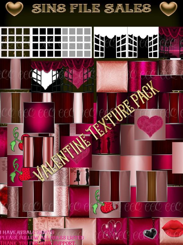 ♥ Valentine Texture Pack ♥