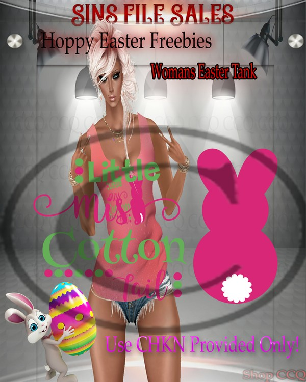♥FREEBIE♥Womans Easter Tank