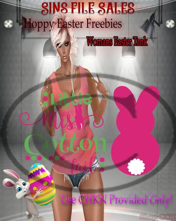 ♥FREEBIE♥Womans Easter Tank