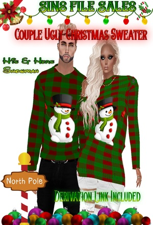 🎄Ugly Christmas Sweaters🎄His & Hers