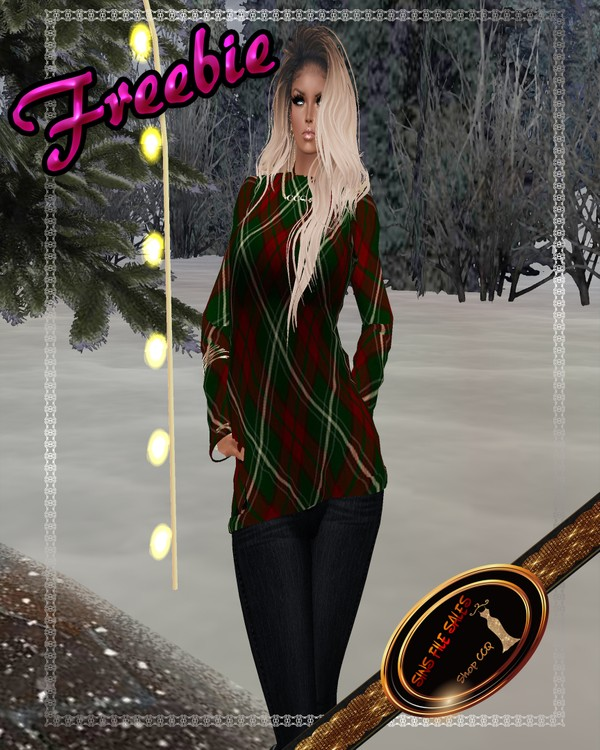 Freebie Christmas Plaid