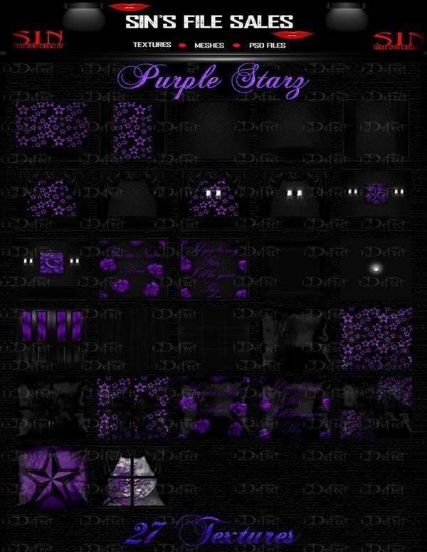 Purple Starz Texture Pack