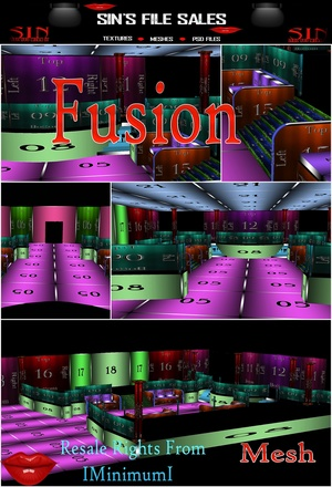Fusion Large Club/Room *Mesh