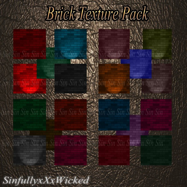 Brick Wall Textures ( 20 Textures)