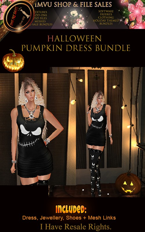 Halloween Pumpkin Dress Bundle 🎃