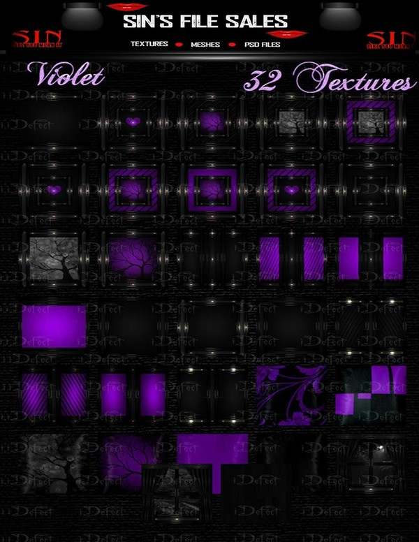 Violet Texture Pack