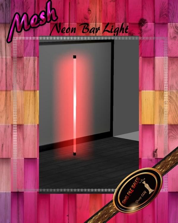 •Neon Corner Light Mesh• CHKN File