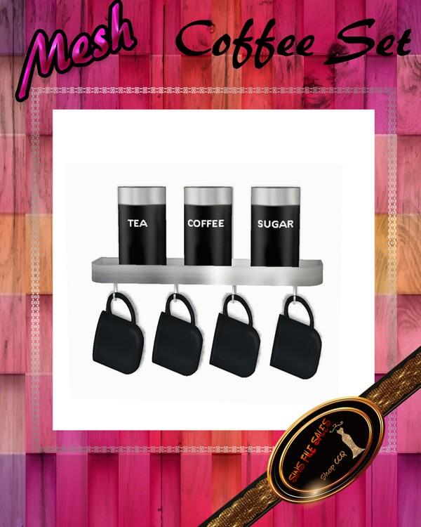 •Mesh Coffee Cup Set•CHKN File