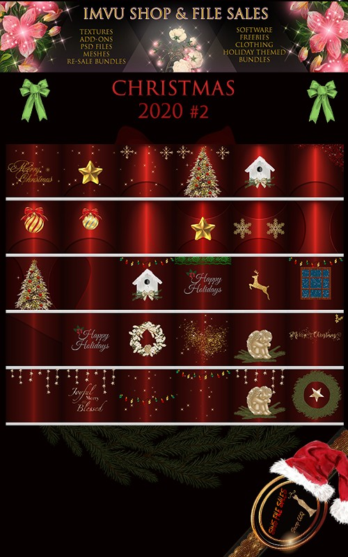 🎅Christmas Texture Pack #2 2020 🎅