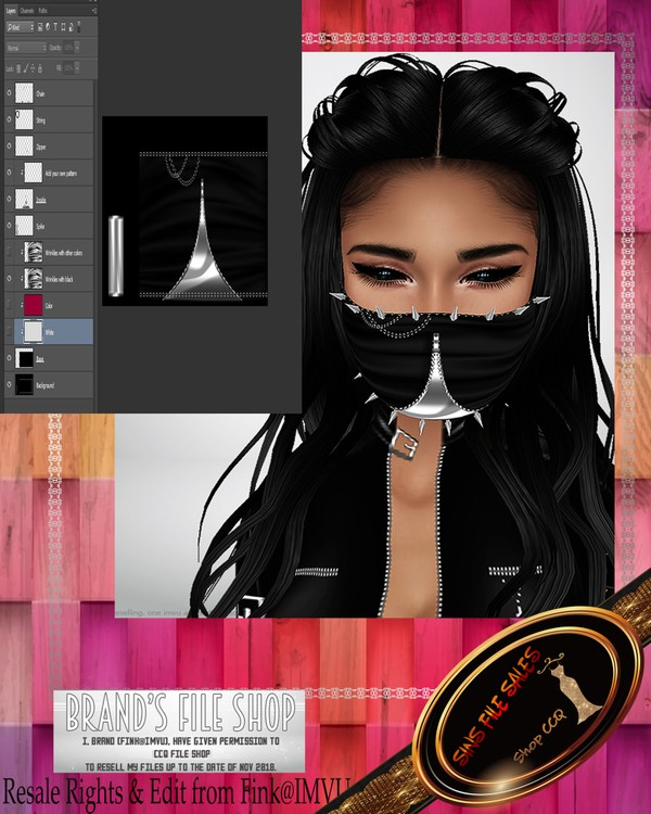 •Mask Generator♥ PSD Included