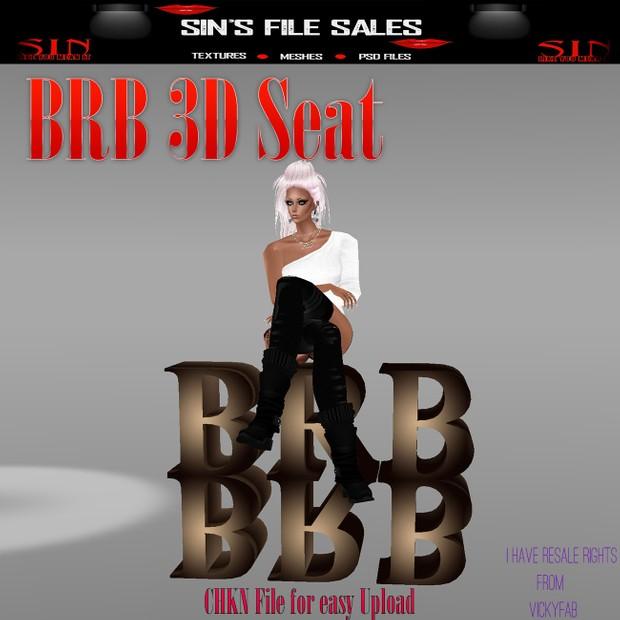BRB 3D SEAT * CHKN File