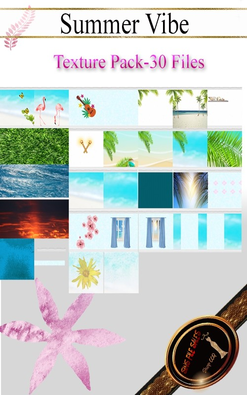 •Summer Vibe Texture Pack•