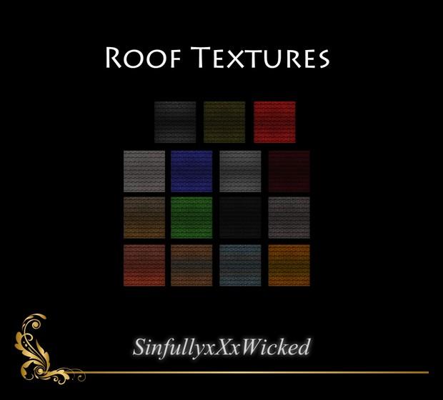Roof Textures (15 Textures)