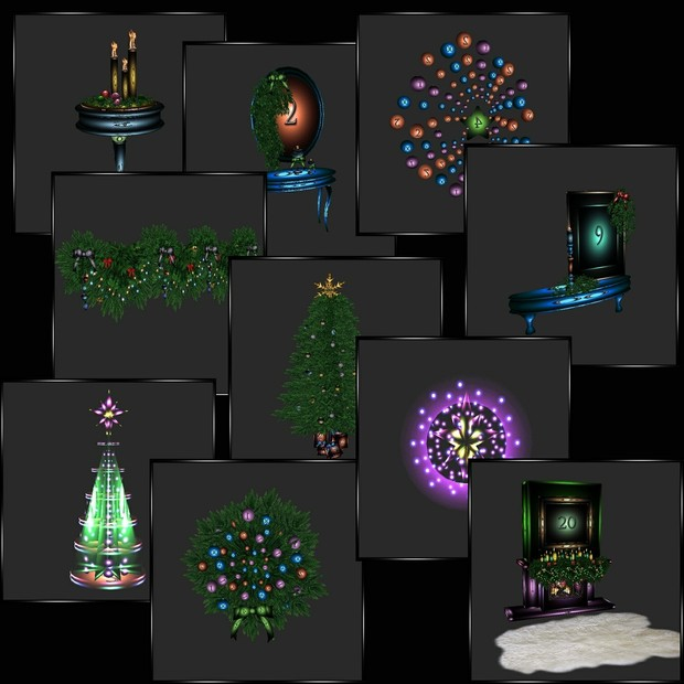 🎄Christmas Special #1 🎅50 Meshes CHKN Files 🎄 Less then $1 Per Mesh!