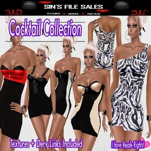 Cocktail Collection (5 Dresses Included)