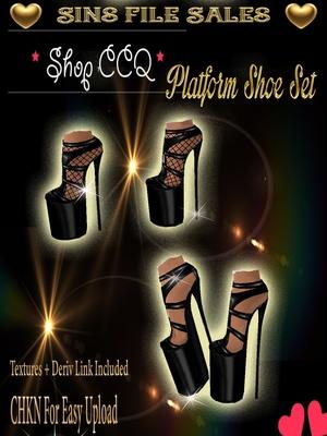Platform Shoe Set * CHKN for easy upload