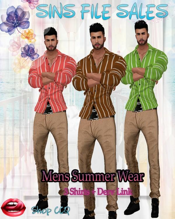 •Mens Summer Wear*