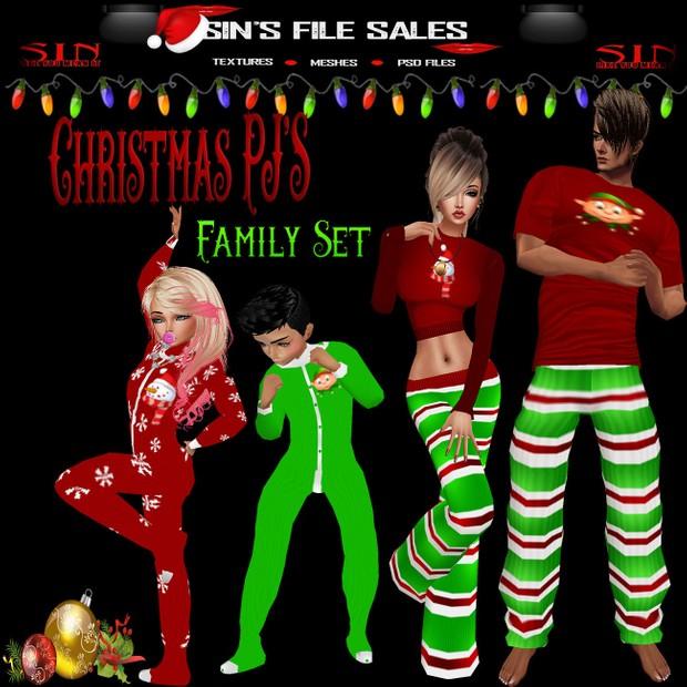 Christmas PJ'S Family Set