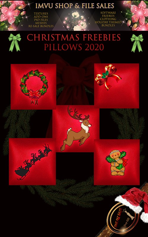 Christmas Pillow Early Freebies 2020