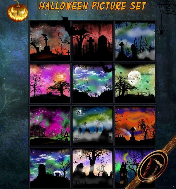 •Halloween Art Set•+ Derv Links