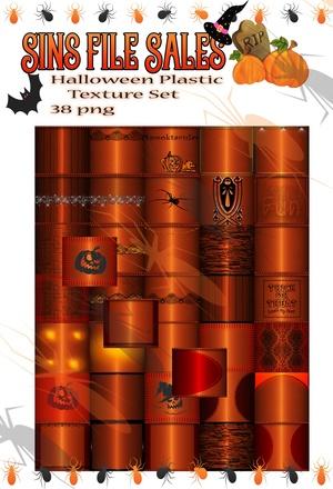Halloween Plastic Textures