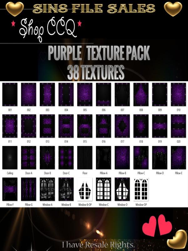 Purple Texture Pack
