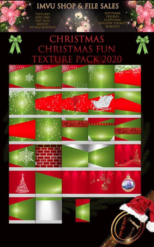 🎅Chirstmas Fun texture Pack 2020🎅