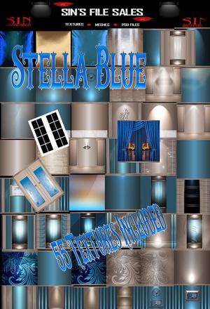 Stella Blue * 55 Textures