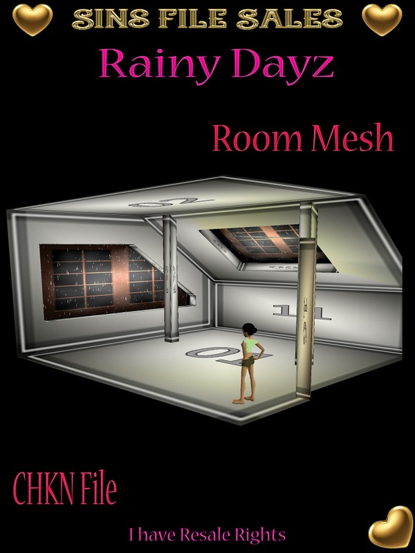 Rainy Days Attic Mesh
