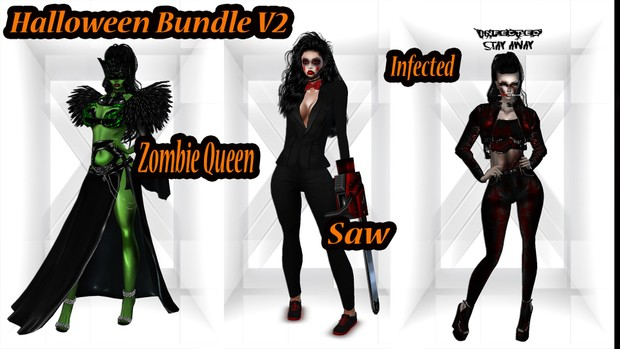 🎃 Bundle & Save 🎃 3 Full Halloween Outfit Bundles for one Low Price!