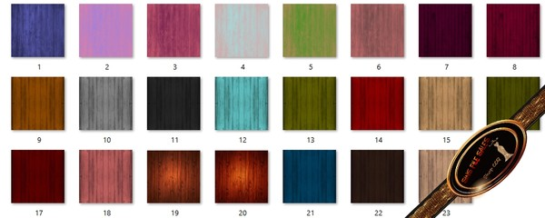 •Wooden Texture Set•23 Files