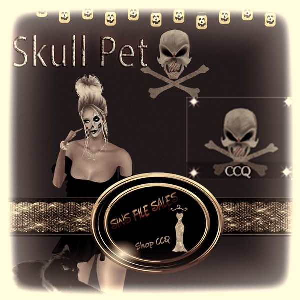 •Halloween Bloody Skull Pet FREEBIE•