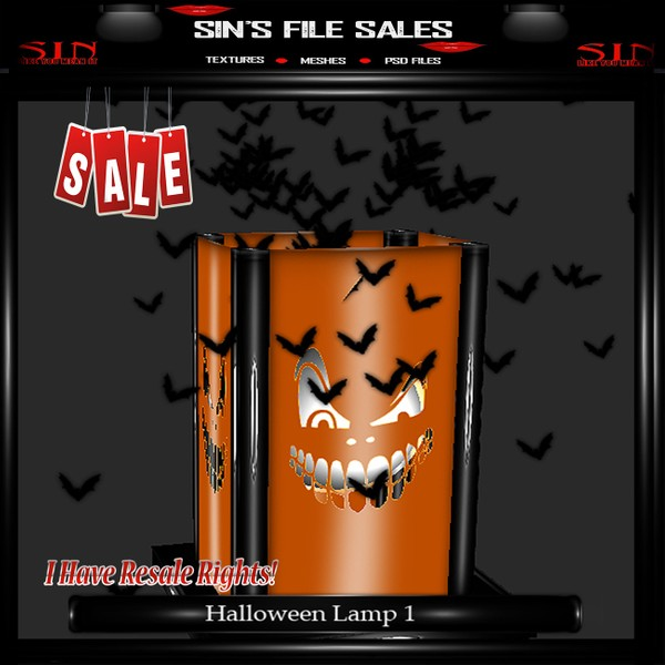 Halloween Lamp Mesh