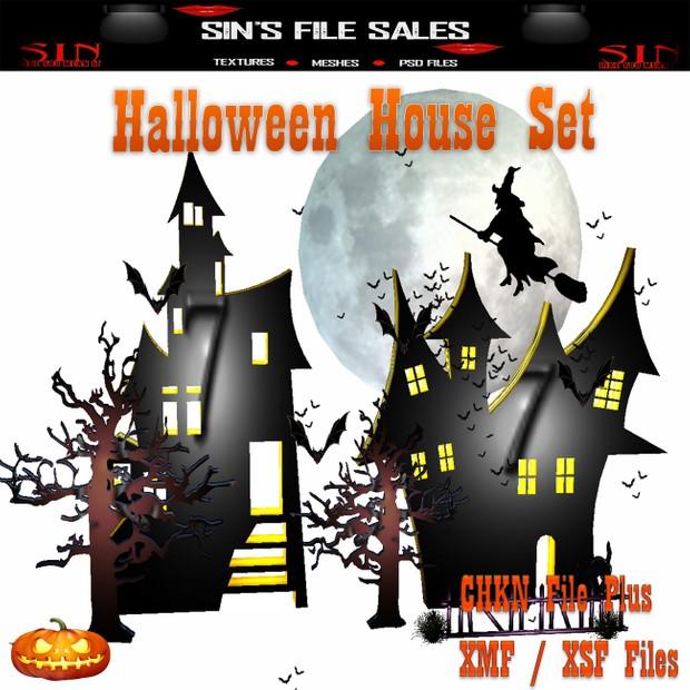 Halloween Houses * Mesh
