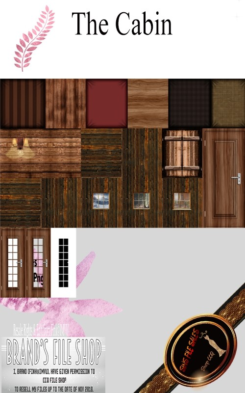 ○The Cabin-Texture Pack○