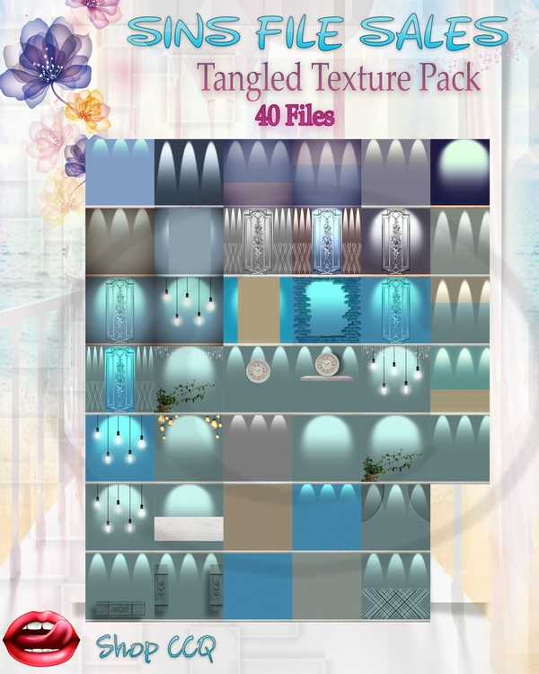 •Tangled Texture Pack•40