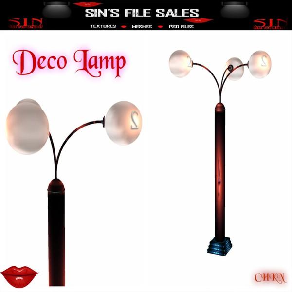 Deco Lamp *Mesh
