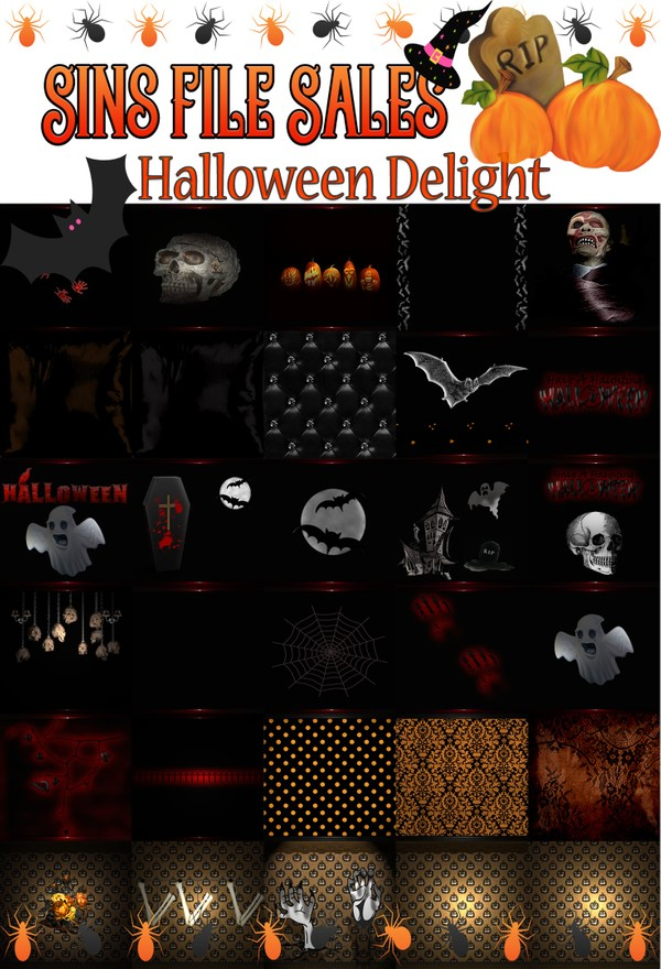 Halloween Delight Texture Pack