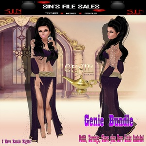 Genie Bundle ( Shoes, Earings,Outfit Plus Derv Links)