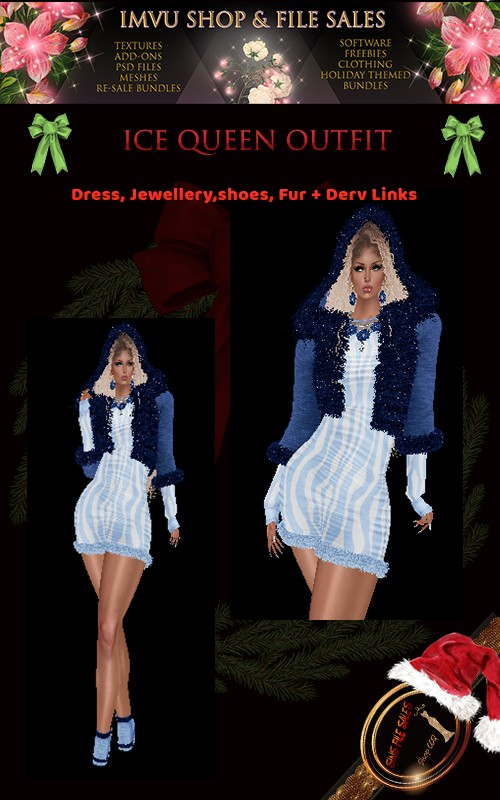Ice Queen Full Outfit- Derv Links Included