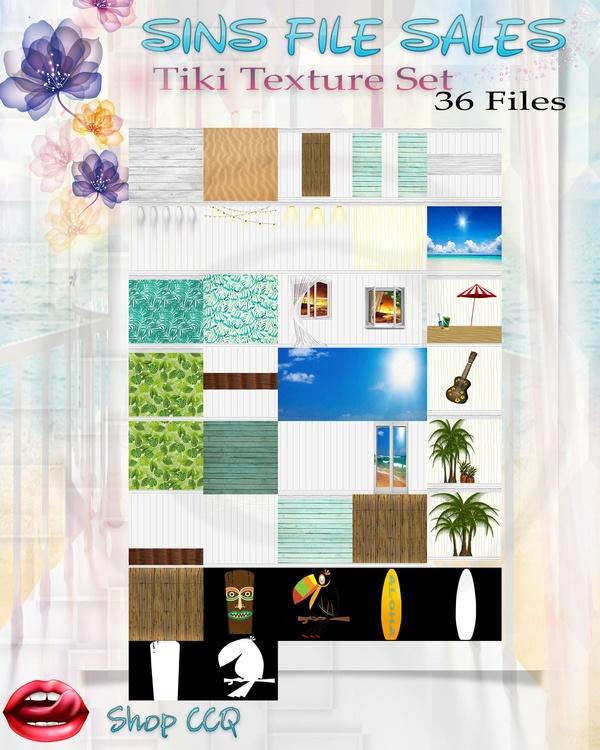 •Tiki Texture Pack•