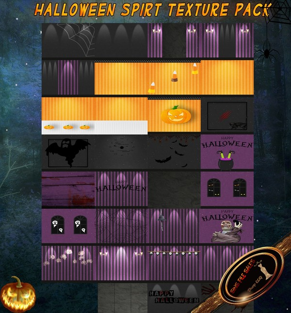•Halloween Spirit Texture Pack•31 Files