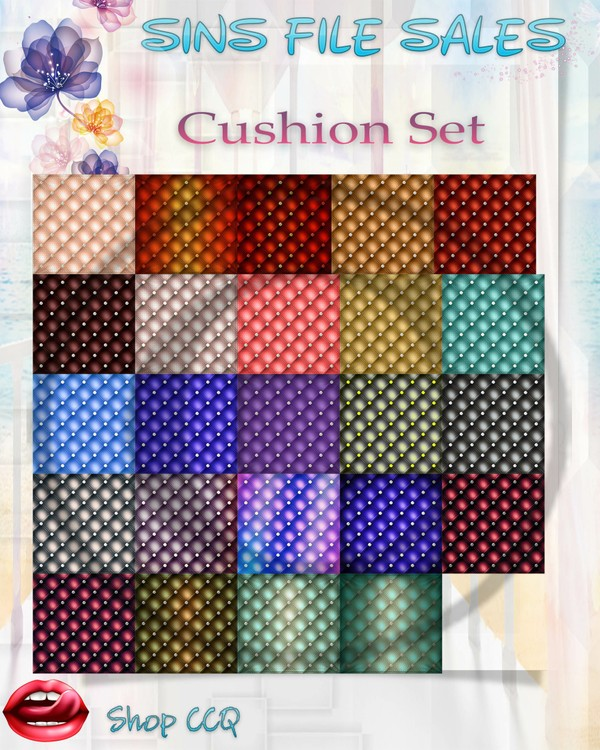•Cushion Texture Set•
