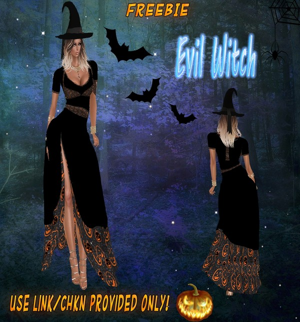 🎃Evil Witch Freebie🎃 CHKN File