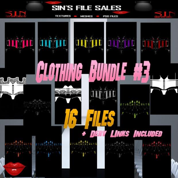 Clothing Bundle *16 Files