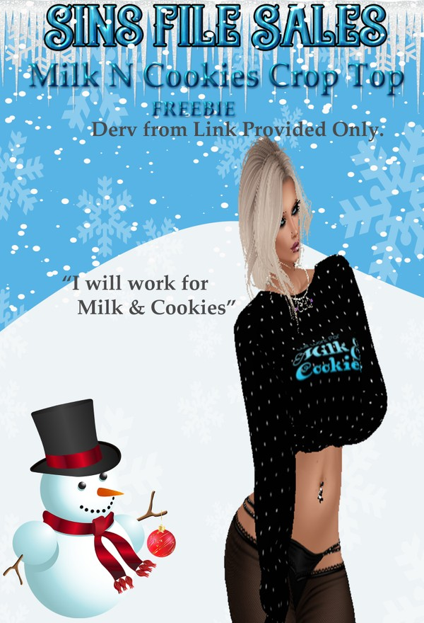 Freebie:Milk'n'Cookies