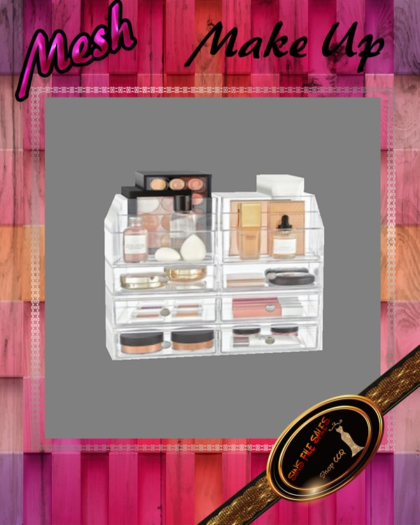•Make Up Mesh•CHKN File